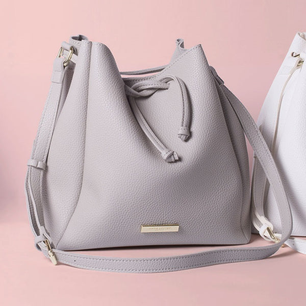 Chloe Bucket Bag Mini -  Grey