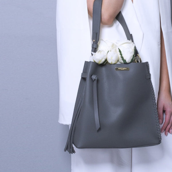 Florrie Day Bag - Charcoal