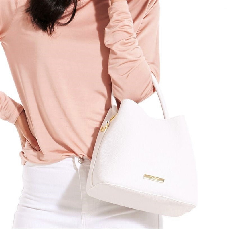 Sienna Crossbody Bag - White