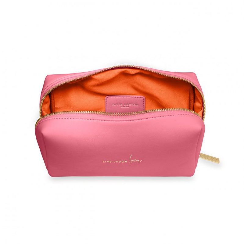 Colour Pop Make-up Bag - Live Love Laugh