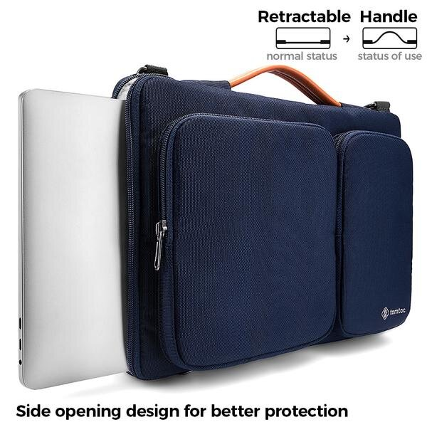 Versatile Laptop Bag - Navy 15 to 16 Inch