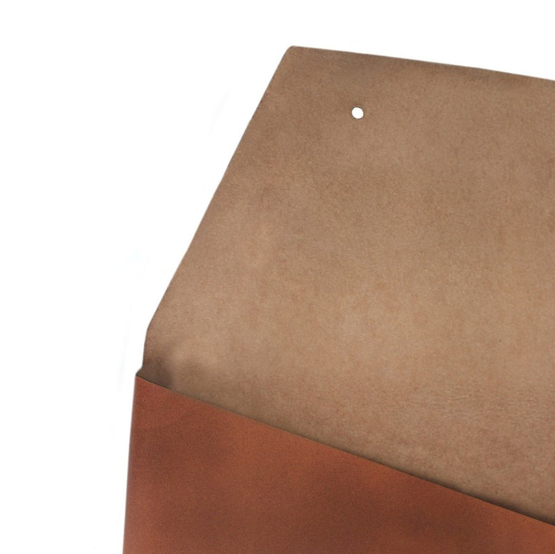 "Leather Wrap Sleeve 13"" - Tan"