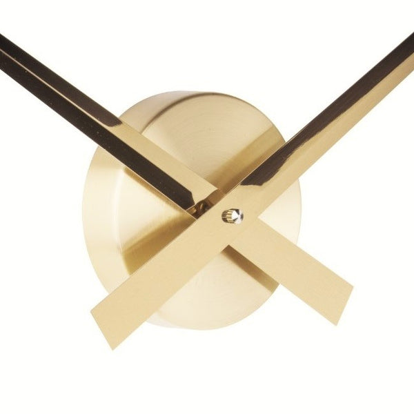 Little Big Time Gold Wall Clock