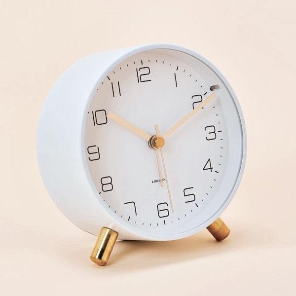 Lofty Alarm Clock - White