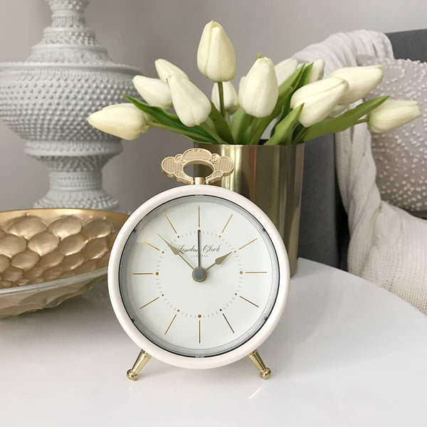 Tilly Alarm Clock - Cream