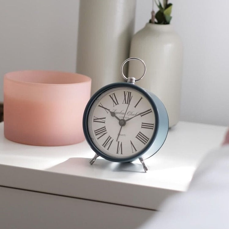 Emily Alarm Clock - Smokey Blue
