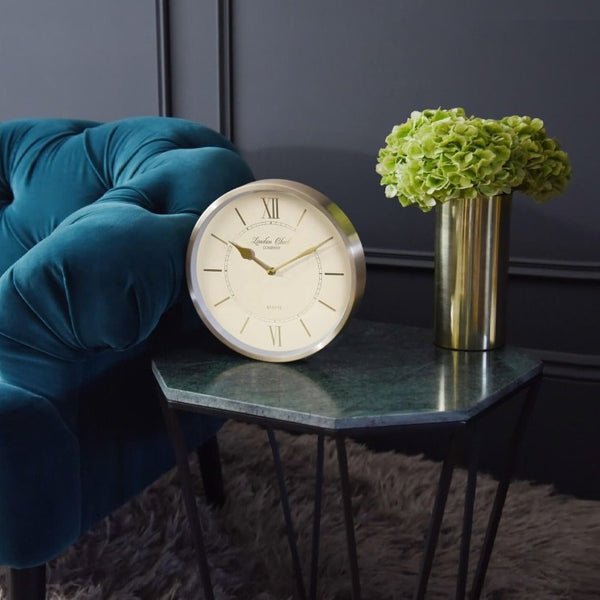 Sophia Wall Clock - Gold
