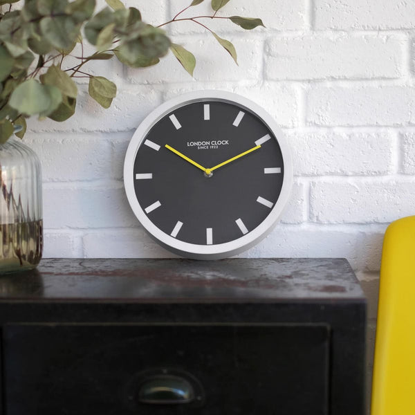 Pop Wall Clock - White