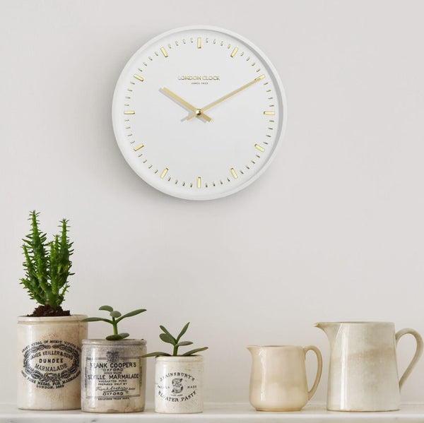 Arto Wall Clock - White