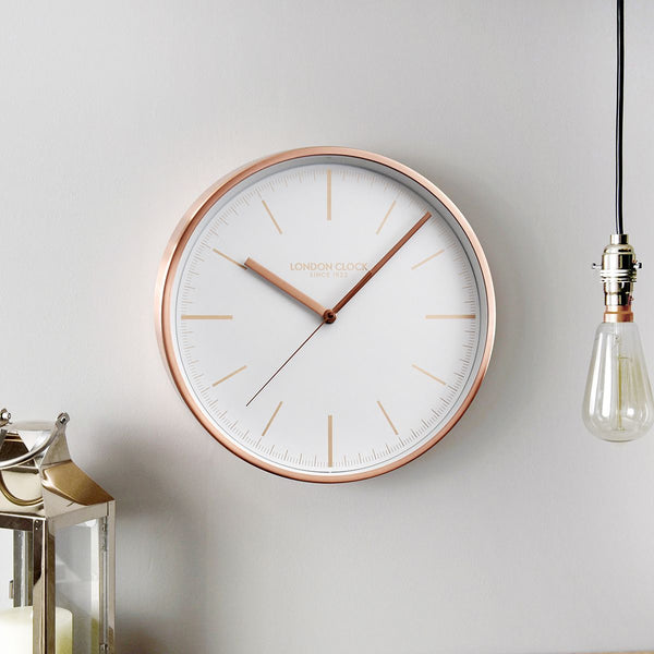 Artemis Wall Clock - Copper