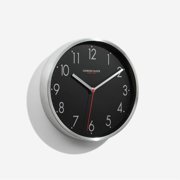 Mirage Wall Clock - Black