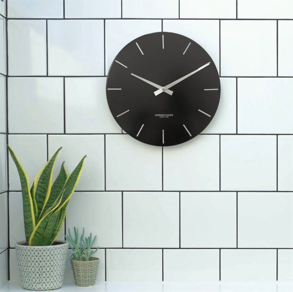 Thunder Wall Clock - Black