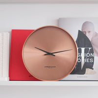 Element Wall Clock - Copper