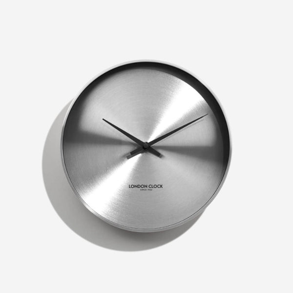 Element Wall Clock - Chrome