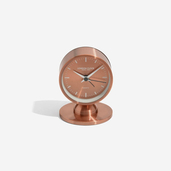 Glimmer Alarm Clock Small - Copper