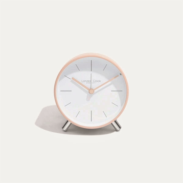 Primo Alarm Clock - Blush Metal