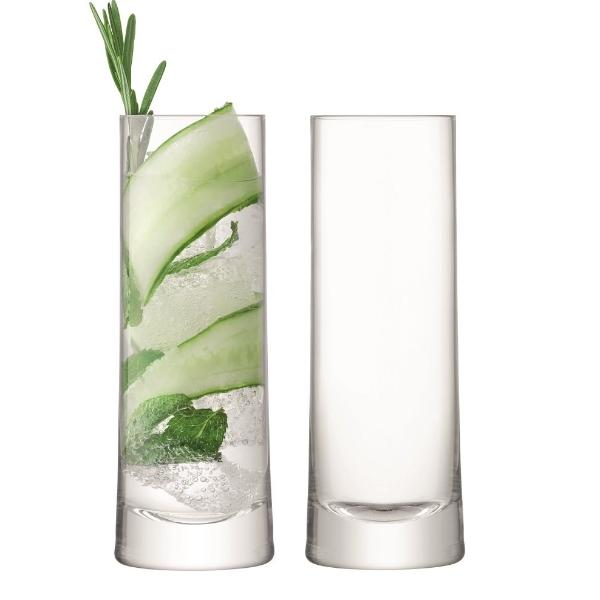 Gin Highball Glasses, Set of 2