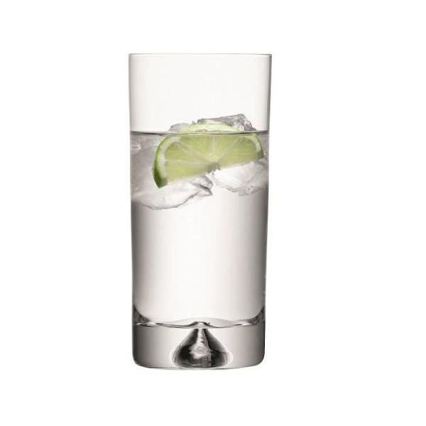 Pyramid Highball Glasses, Set of 6