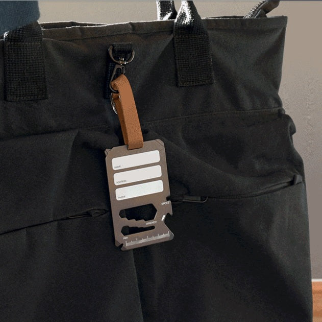 Multi-Tool Luggage Tag - Nomad
