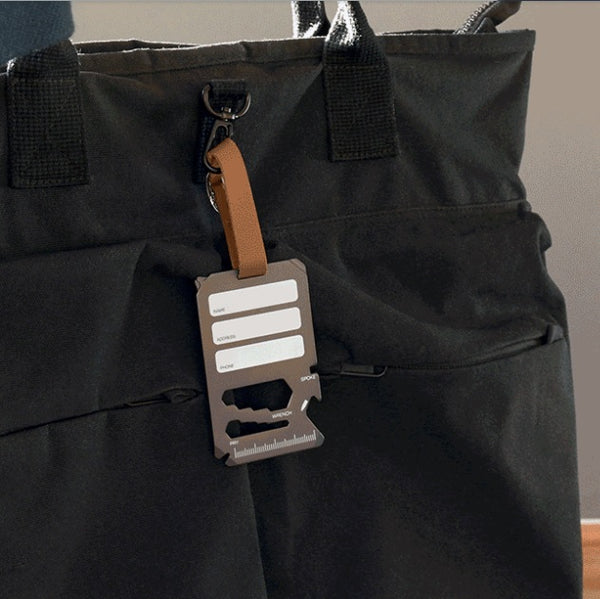 Multi-Tool Luggage Tag - Everywhere