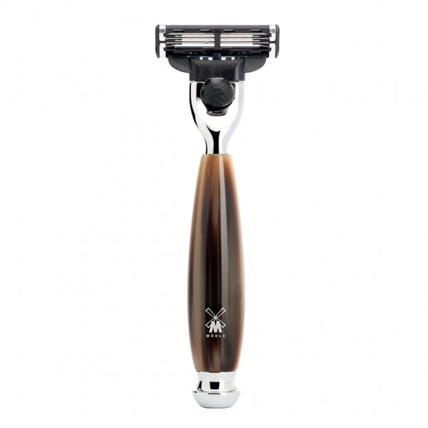 Vivo Mach3 Razor - Horn Brown