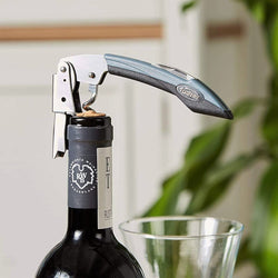 Maison Double Lever Corkscrew - Rugged Black Grip