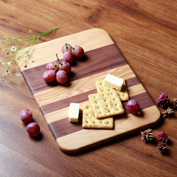 Duo Wooden Serving Platter