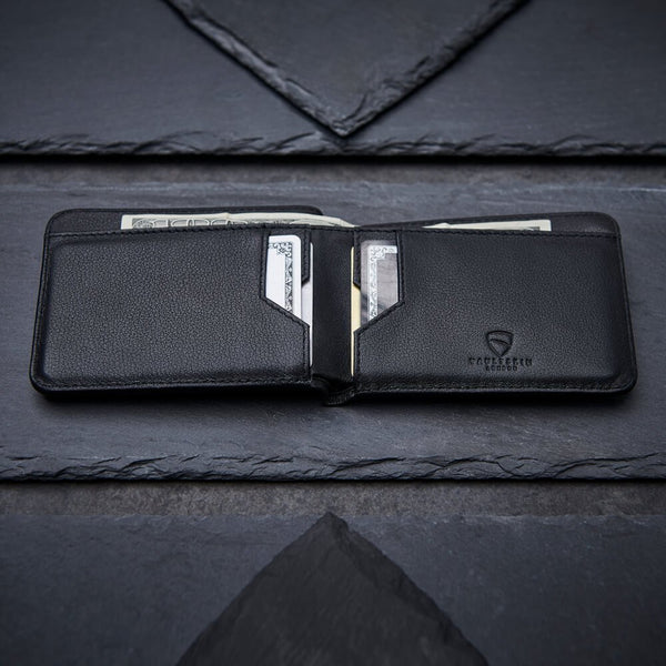Manhattan Bifold Wallet - Black RFID