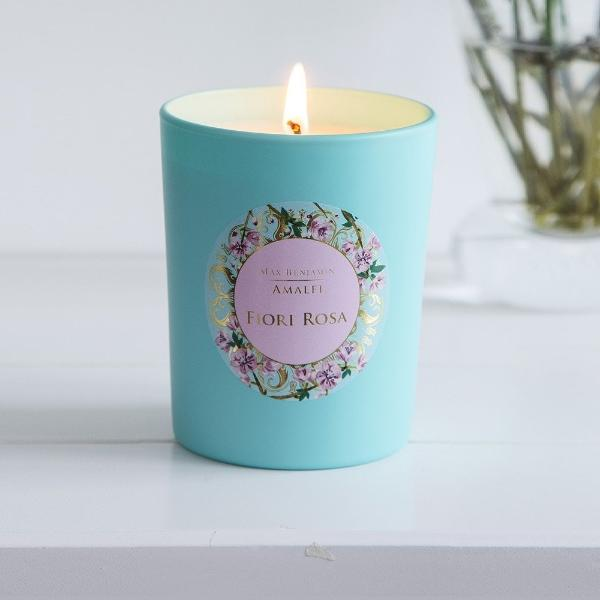 Amalfi Collection Fiori Rosa Scented Candle