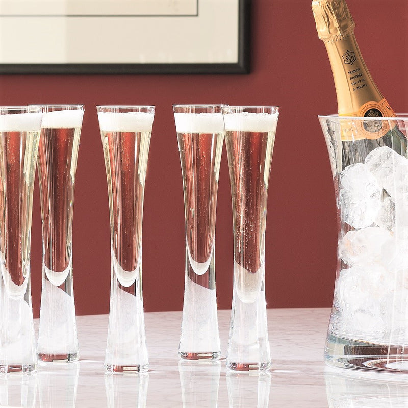 Moya Champagne Flutes, Set of 2