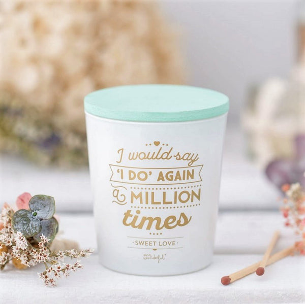 Scented Candle - Sweet White