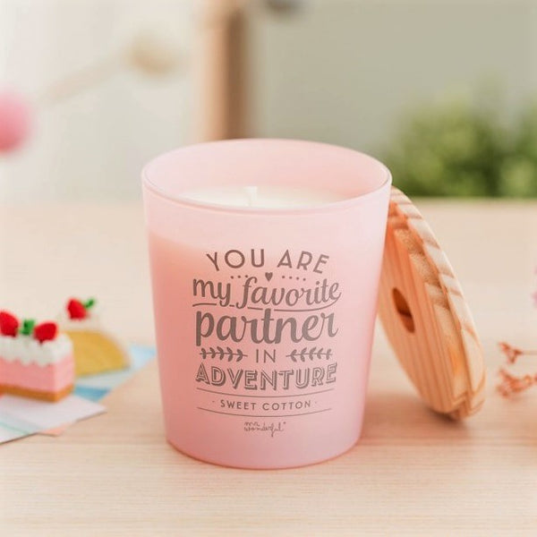 Scented Candle - Candy Pink