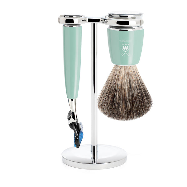 Rytmo Fusion Shave Set - Mint Green