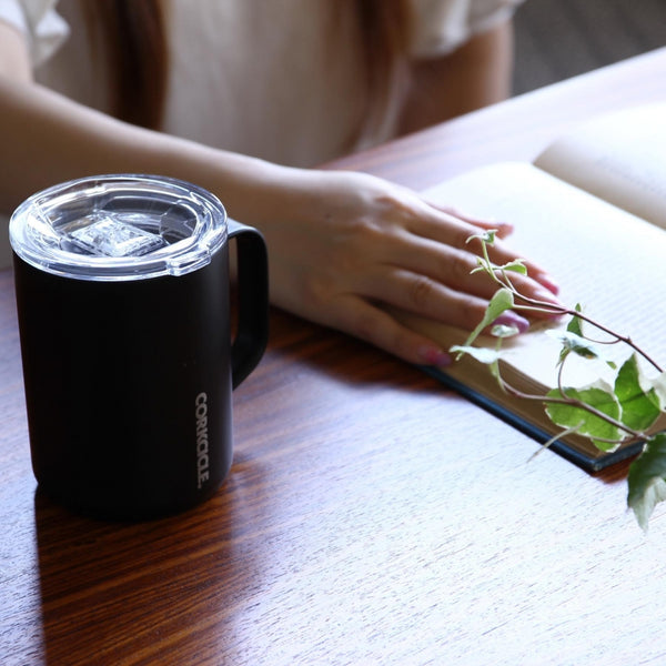 Insulated Coffee Mug - Matte Black