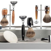 Liscio Fusion Razor - Black Chrome