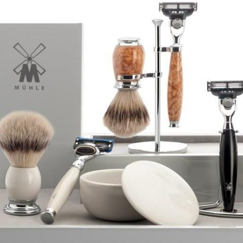 Liscio Fusion Razor - White Chrome
