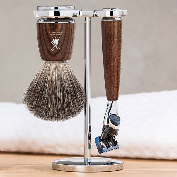 Rytmo Shave Set - Brown Fusion