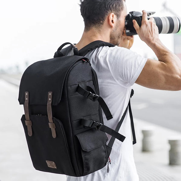 New York Camera Backpack - Black