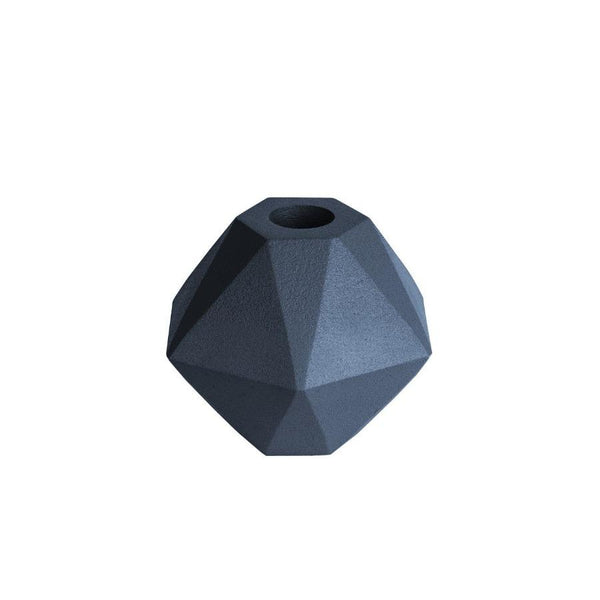 Hexagon Nimble Candle Holder - Blue