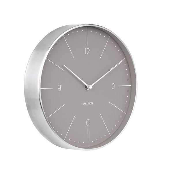 Normann Wall Clock Medium - Grey