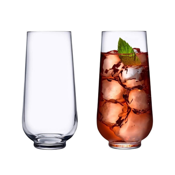 Hepburn Long Drink Glasses, Set of 4