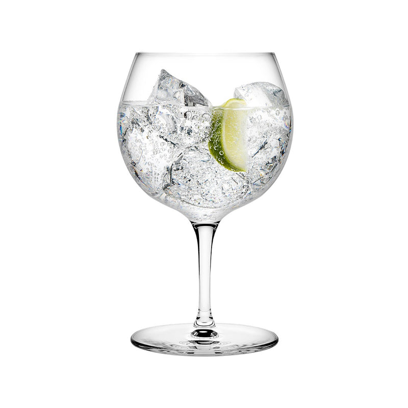 Vintage Gin Tonic Glasses, Set of 2