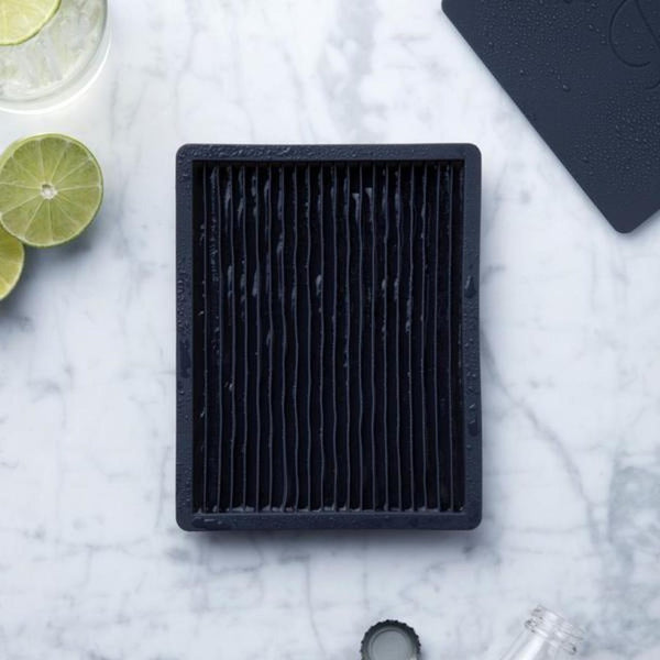 Peak Crushed Ice Tray - Charcoal
