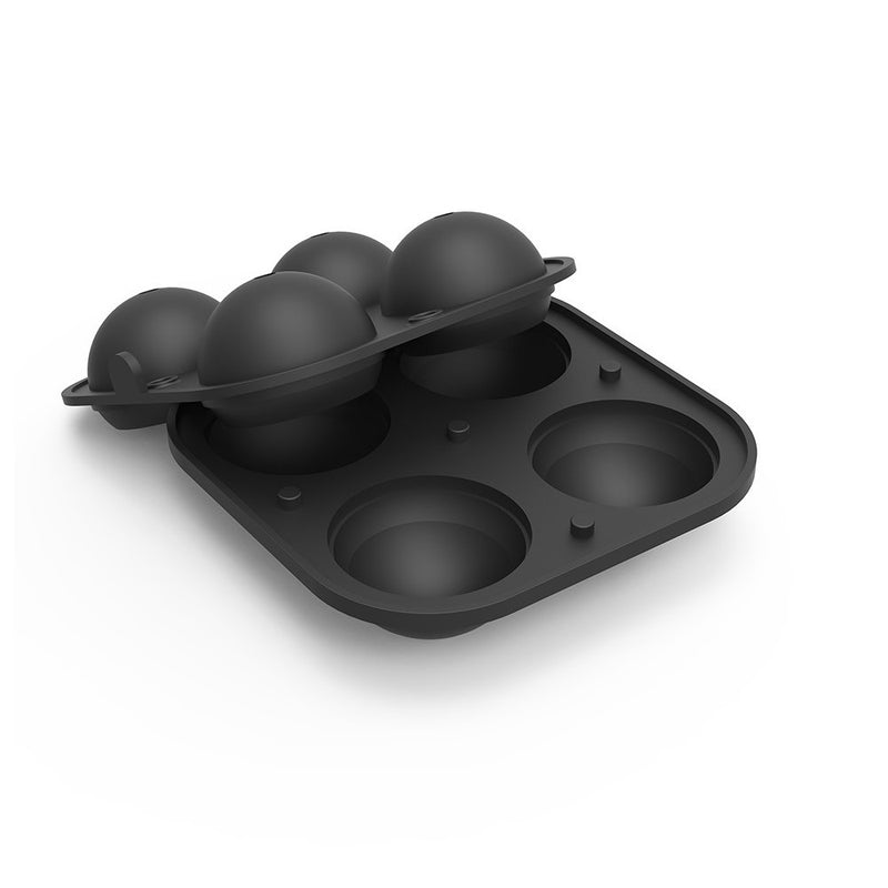 Peak Sphere Ice Tray - Charcoal