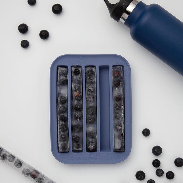 Peak Water Bottle Ice Tray - Blue