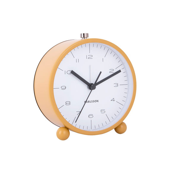 Pellet Alarm Clock - Ochre Yellow