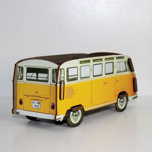 Pen Holder - Yellow VW Van