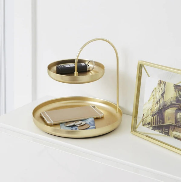 Poise Accessory Tray - Brass