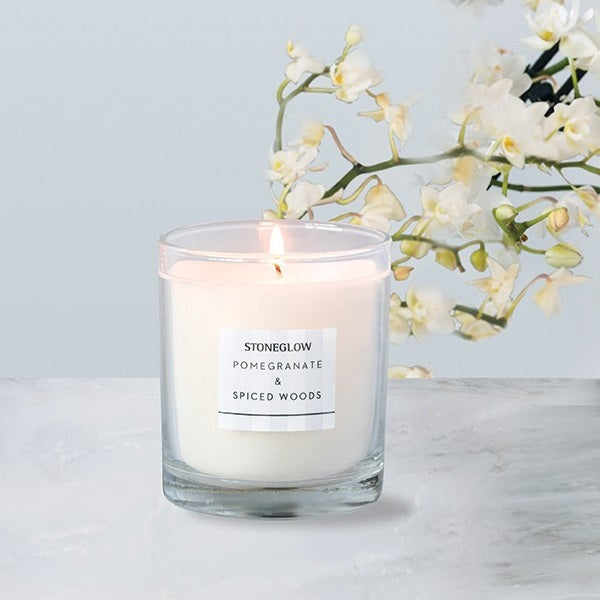 Modern Classics Candle - Pomegranate & Spiced Woods