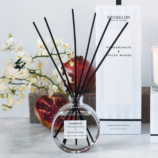 Modern Classics Reed Diffuser - Pomegranate & Spiced Wood